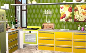 Retro Kitchen for Your Retro House