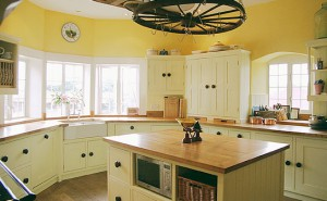Hand Painted Kitchens for Modern Houses