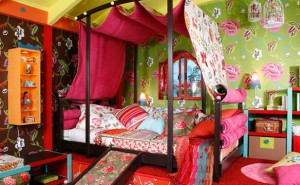 Gypsy-room style for girls
