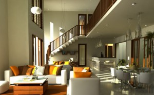 Feng Shui Effect inside the House