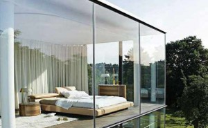 3 Benefit Using Glass Wall on the House
