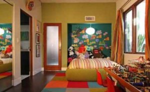 Warm Color for Kids Bedroom
