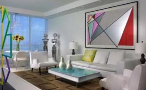 Strengthening White Character in the Living Room