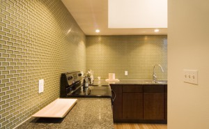 Glass Tile Backsplash Kitchen Walls No Longer Dull