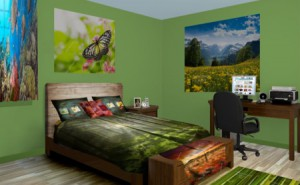 How to Make a Wall Painting in Adult Bedroom