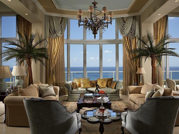 Tropical living room designs