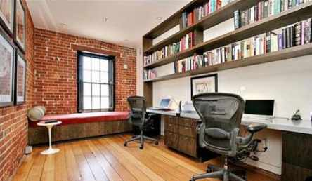 Presenting Brick aesthetics instantly in the home