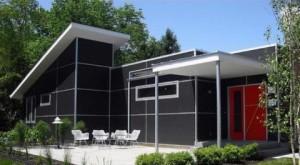 black exterior design