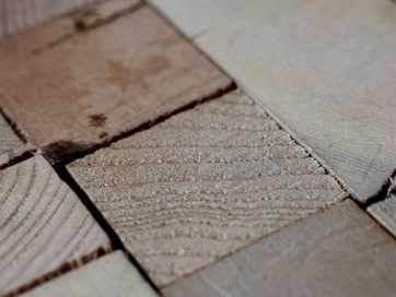 Unique Design with Mosaic Wood Floor